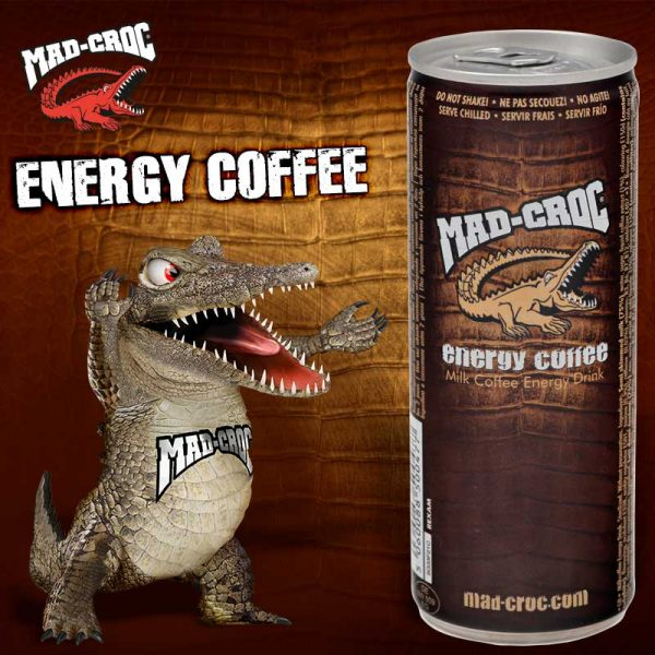 Mad-Croc Energy Coffee 250ml