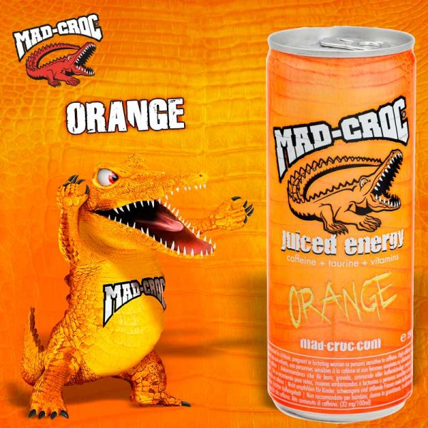 Mad-Croc Juiced Energy Orange