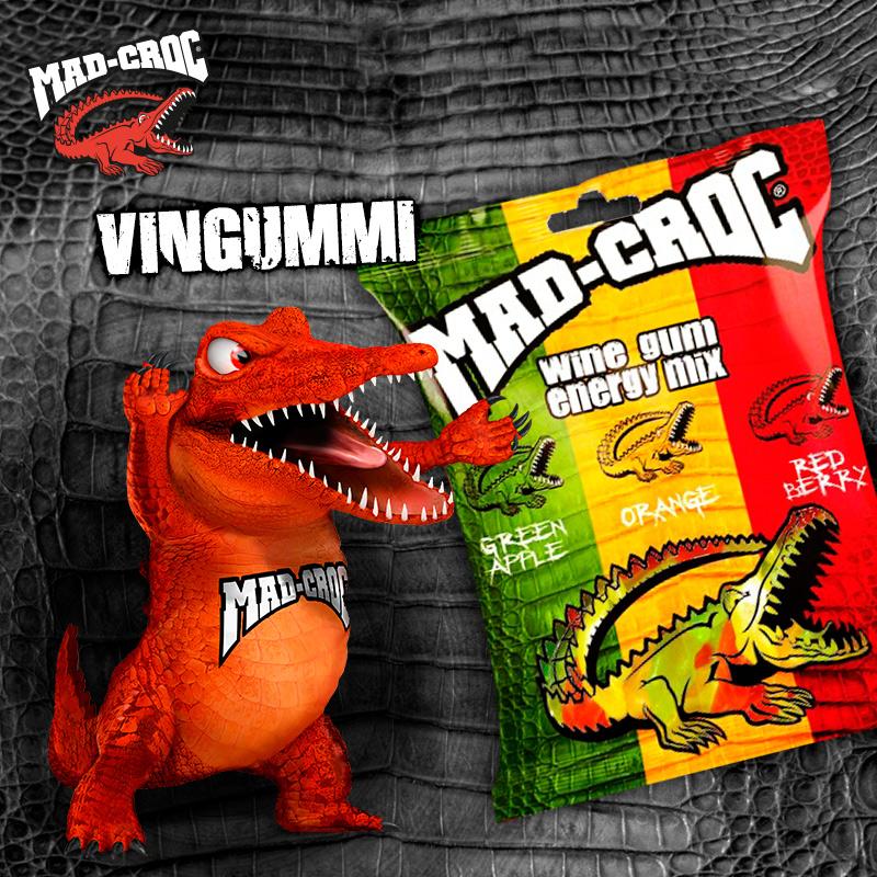 Mad-Croc-Vingummi