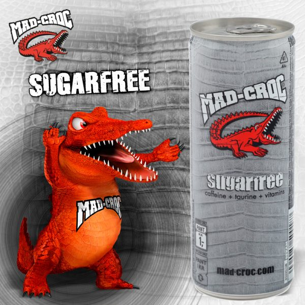 Mad-Croc Sugarfree 500ml