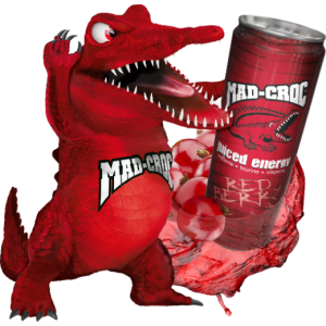 Mad-Croc Juiced Energy Red Berry
